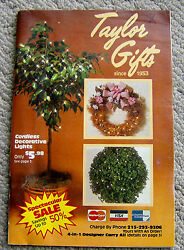 Rare Vintage 1985 Taylor Gifts Catalog Retro Novelties 112 Color Pages Gags Toys
