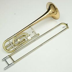 holton Tr-170 Tenor Bass Trombone Musical Instrument With Case F/s Japan