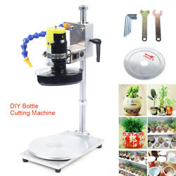 Dc 24v Stainless Steel Glass Wine Bottle Cutter Cutting Machine Jar Recycle Tool