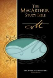 The Macarthur Study Bible Personal Size - Imitation Leather - Good