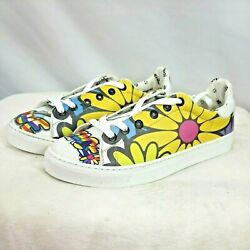 Neef Goby Peace And Love Designed Shoes Sz 10.5 Euro 41