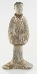 Chinese Han Pottery Statue With Certificate Of Authenticity