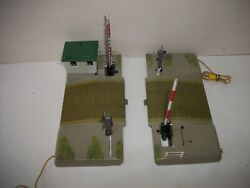 Vintage Marklin Electric Railroad Crossings Automatic Ho Scale In The Orig Box