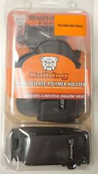 Bulldog Thumb Release Paddle Holster for Smith amp; Wesson Mamp;P Shield w Mag Carrier