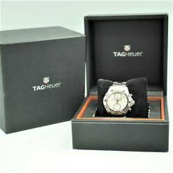 Tag Heuer Aqua Racer Caf2111 Date Chronograph Automatic Watch Maintained Ex++