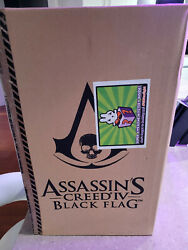 Assassinand039s Creed Iv Black Flag Statue With Acrylic Case Store Display Version