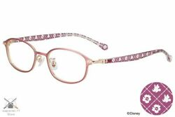 Disney Collection Happiness Series Mickey And Minnie Model Glasses Square Zoff