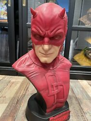 Sideshow Collectibles Daredevil 11 Life Size Bust Statue