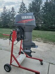 70 Hp Yamaha Outboard Motor 2-stroke 20 70tlrx Freshwater - Oil Injection 1999