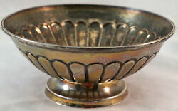 Lovely Hand Made Sterling Silver Bowl Mexico Marked Joyeira Real Weighs 181 Gram