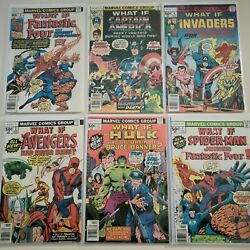 Marvel What If 1-47 Mid Grade Complete Full Run 10 Jane Foster Thor 31
