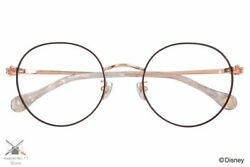Disney Collection Hands Series Mickey Mouse Model Glasses Zoff Boston Brown 43e1