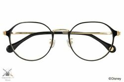 Disney Collection Hands Series Mickey Mouse Model Glasses Zoff Crown Panto Black