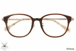 Disney Collection Hands Series Mickey Mouse Model Glasses Zoff Wellington Brown