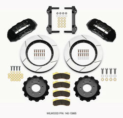 Wilwood Tx6r Front Kit 15.50in Black 2010-up Ford F150 6 Lug
