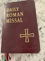 Daily Roman Missal Daily And Sunday Masses 1997, Leather, Revised Edition