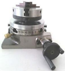Tour Chuck Pour Fraisage Machinrotary Table Horizontal And Vertical 3 / 75mm /
