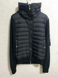 Moncler Down Jacket Size M Best Black Used In Japan No.1290