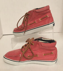 Sperrys Top Sider Size 6m Pink Boat Shoes