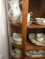 Antique Rosenthal China Selb Germany Sanssouci 20th Century 79 Pieces