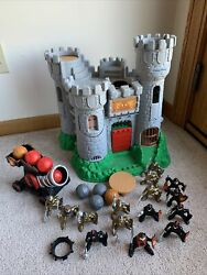 Vintage 1994 Fisher Price Great Adventures Castle Medieval Knights Canon Ball