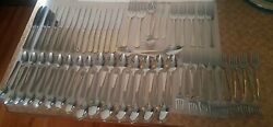 Towle Silversmiths 18/8 Stainless Flatware 75 Pieces Silverware