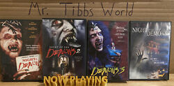 Night Of The Demons Complete Dvd Set 1 2 3 Remake