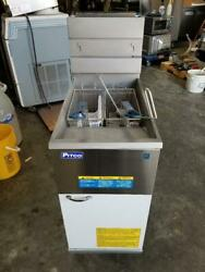 Pitco® 45c Natural Gas 42-50 Lb. Stainless Steel Floor Fryer New