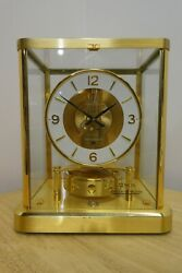 Jaeger-lecoultre Atmos Clock Caliber 540 Needs Service. Manual Included.