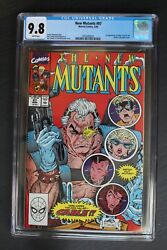 New Mutants 87 1st Full Cable 1990 X-force Movie 1st Print Liefeld Cgc Nmmt 9.8