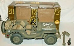 Beautiful 2000 Issue Ultimate Soldier Wwii 1943 Mb Jeep Us Army Vehicle1/6mib