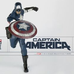Threea 3a 1/6th Marvel Captain America Collectible Figure Brand New Unopened
