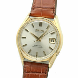Grand Seiko 6245-9000 Date Antique Cal.6245a Automatic Menand039s Watch Overhauled