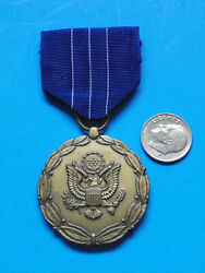Original U.s. Army Department Of The Army Meritorious Civilian Service Medal