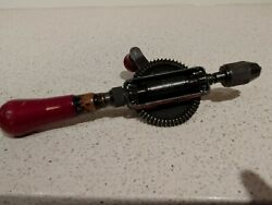 Vintage Yankee North Bros. Ratcheting Egg-beater Style Hand Drill No.1530a