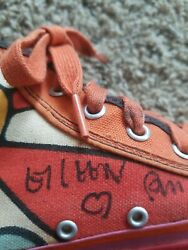 Signed By Peter Max In Black Marker Vintage 1972 Sneakers By Randy Shoes