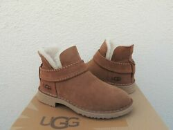 [1012358-che] Ugg Womenand039s Mckay Ankle Boots Chestnut New