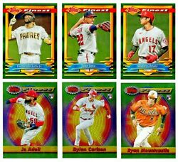 2021 TOPPS FINEST FLASHBACKS All Base Cards BUY MORE amp; SAVE 99¢ SHIP YOU PICK