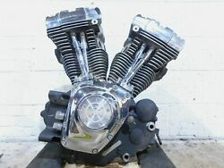 2001 01 Harley Davidson Softail Heritage Classic And Fat Boy Engine Motor -tested