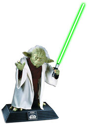 Rubieand039s Costume Co Star Wars Collector Life Size Yoda Statue