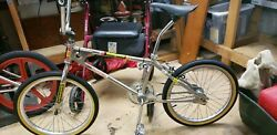 1979 Mongoose Bmx Bike Classic Vintage Historical Clean Nickel Plated