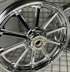 Indian Chieftain Classic Chrome Wheel Front Oem 2015 -21 Mag Rim 19 Outrigh