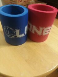 2 Lionel Trains Beer Soda Drink Can Koozie Can Cooler. Brand New Never Used.