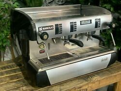 Rancilio Classe 10 2 Group Black And Stainless Espresso Coffee Machine Commercial