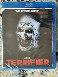 Terrifier Blu ray*Dead Central*Obscure Horror*Widescreen*Rare*OOP*Sealed A48
