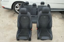 2020 W204 Mercedes C43 C63 Amg Sedan Front And Rear Seats Seat Set Black Complete
