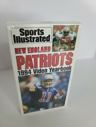 Sports Illustrated New England Patriots Yearbook 1994 Sealed Vhs No Barcode Wata