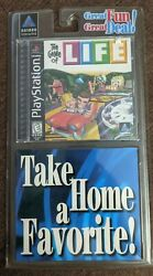 Game Of Life Sony Playstation 1, 1998 Ps1 New Sealed