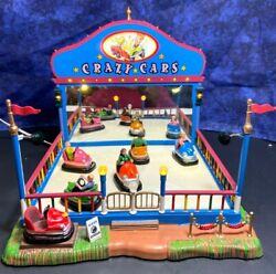 Lemax 2013 Collection Carnival Crazy Cars 2006 Model 64488 Tested/working