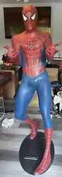 Life Size Marvel Spiderman Statue With Base